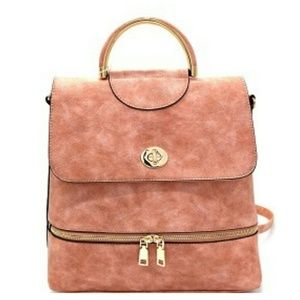 10% off Handbags - New versatile backpack purse in blush pink from ...